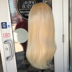 Accessories - Fulllace Wig Blonde Human hair 16 inc 180DN Remy